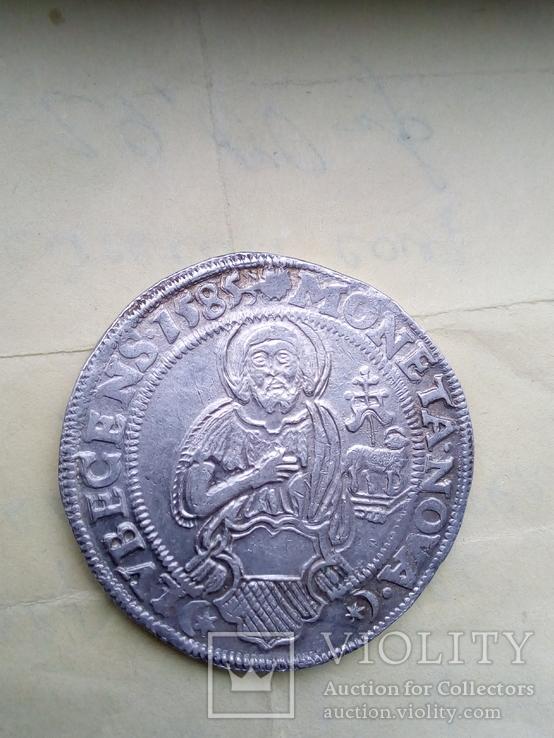 Талер 1585 Іоан Хреститель м.Любек
