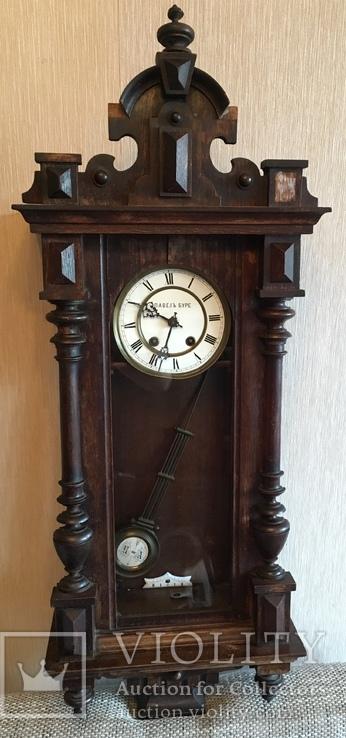 Часы настенные Павел Буре Lenzkirch, большие . На ходу.
