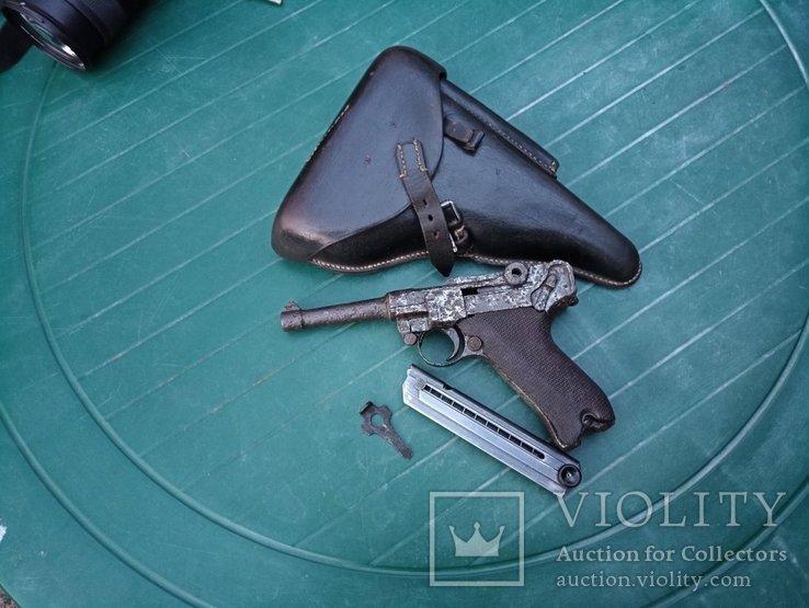 Пистолет Люгер 1914г.Эрфурт