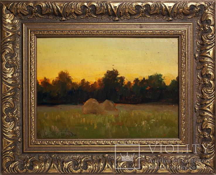 "Стилиануди Александр Николаевич (1868-1948) - ""Вечереет"""