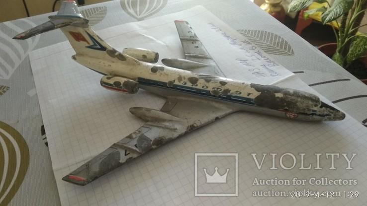 Самолет ТУ134(по-моему), фото №5