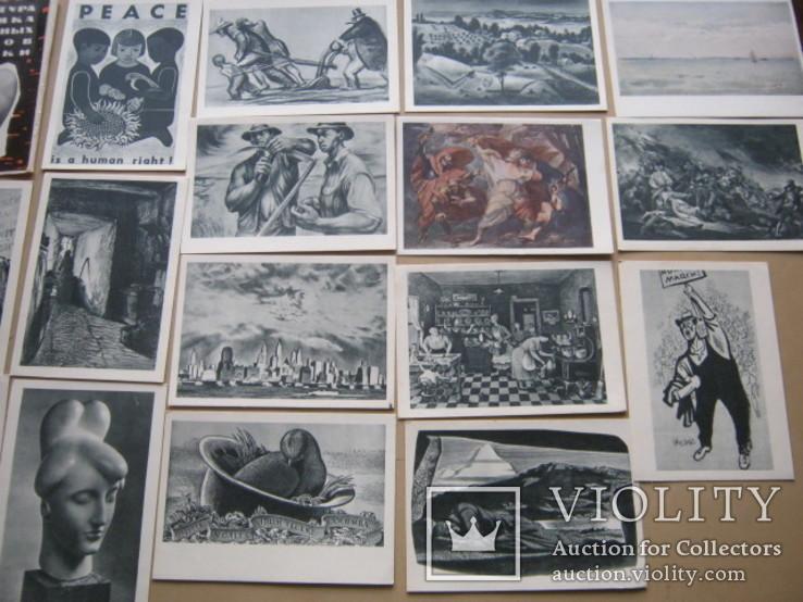 Набор открыток Скульптура и графика США, фото №2