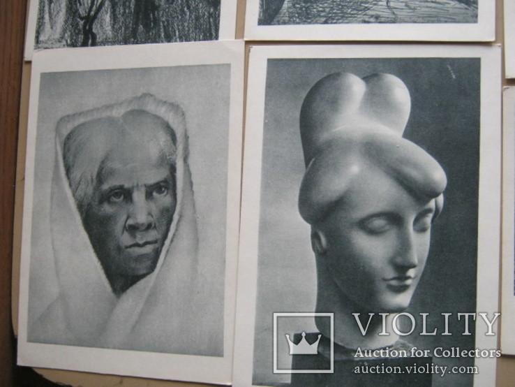 Набор открыток Скульптура и графика США, фото №10