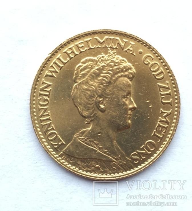 10 Гульденов 1917 г. Нидерланды