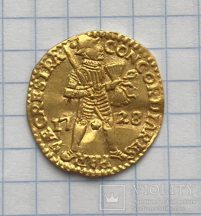 Дукат 1728 год
