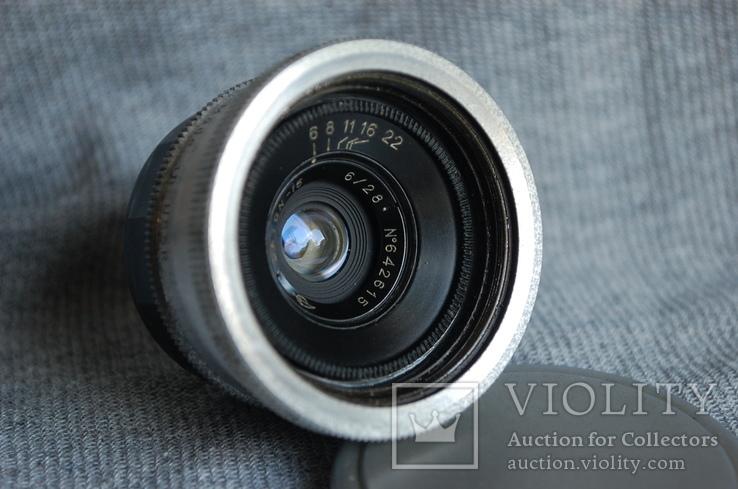 Объектив Орион-15 Экспортный выпуск, 1960 год, м.39, ФЭД - Leica., фото №3