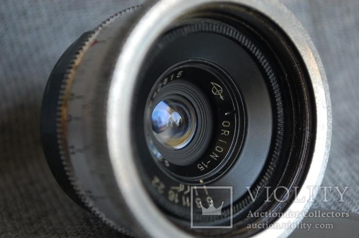Объектив Орион-15 Экспортный выпуск, 1960 год, м.39, ФЭД - Leica., фото №6