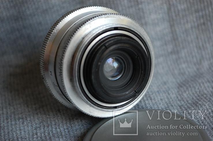 Объектив Орион-15 Экспортный выпуск, 1960 год, м.39, ФЭД - Leica., фото №7