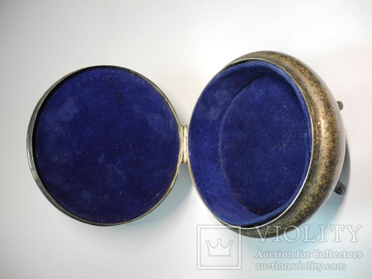 Шкатулка для украшений ( серебрение , клеймо ), фото №4