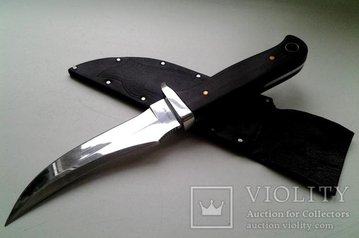 Охотничий нож, бонусом хорошие ножны в коже