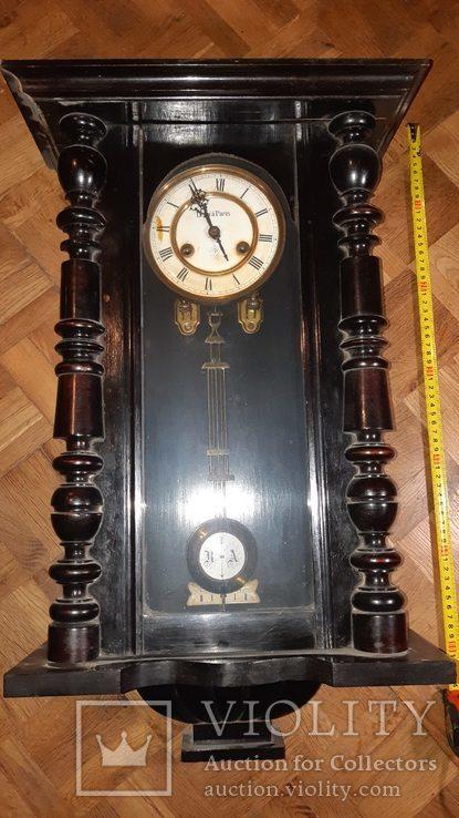 Часы настенные с боем. Junghans, Германия.