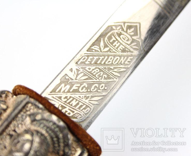 Масонский церемониальный меч + родной чехол, 1890-1920 годы, photo number 10