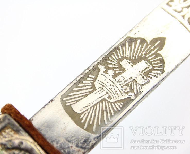 Масонский церемониальный меч + родной чехол, 1890-1920 годы, photo number 11