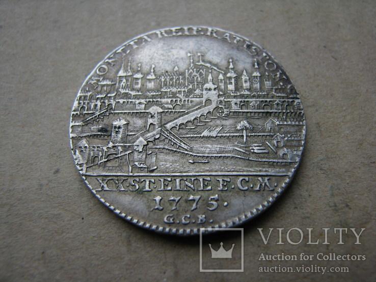 1/2 талера 1773   Regensburg, фото №3