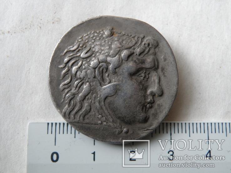 Тетрадрахма Александра Македонского, посмертная, Месембрия