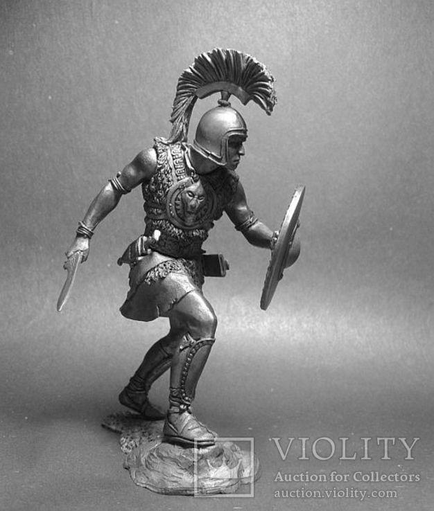 2-я Пуническая война.Карфаген. Иберийский наёмник армии Ганнибала. 220—201г. до н.э. 75мм