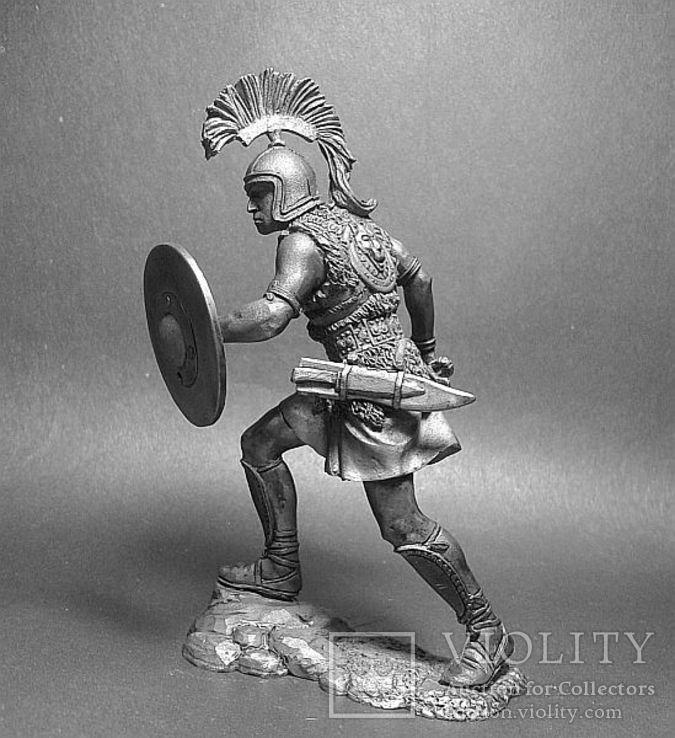 2-я Пуническая война.Карфаген. Иберийский наёмник армии Ганнибала. 220—201г. до н.э. 75мм, фото №3