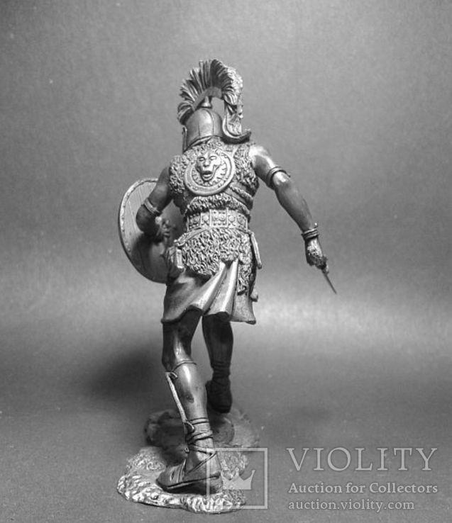 2-я Пуническая война.Карфаген. Иберийский наёмник армии Ганнибала. 220—201г. до н.э. 75мм, фото №4