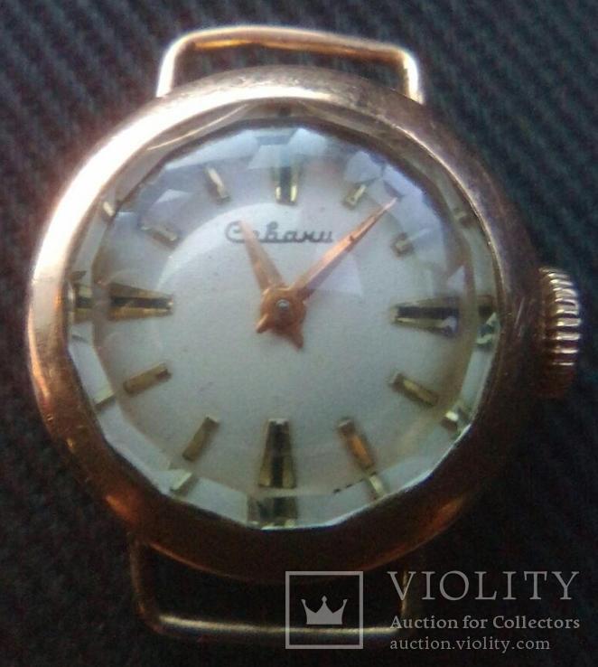 """Золотые часы '' Севани"""", проба 583"""
