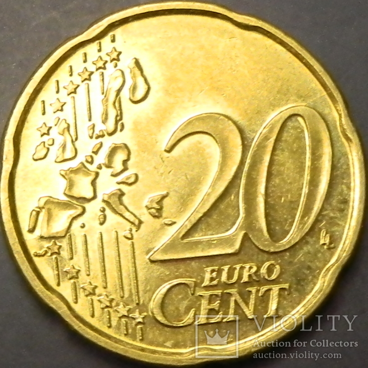 20 євроцентів Бельгія 2000, фото №3