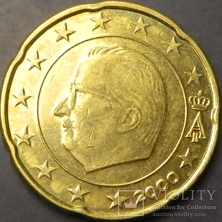 20 євроцентів Бельгія 2000, фото №2