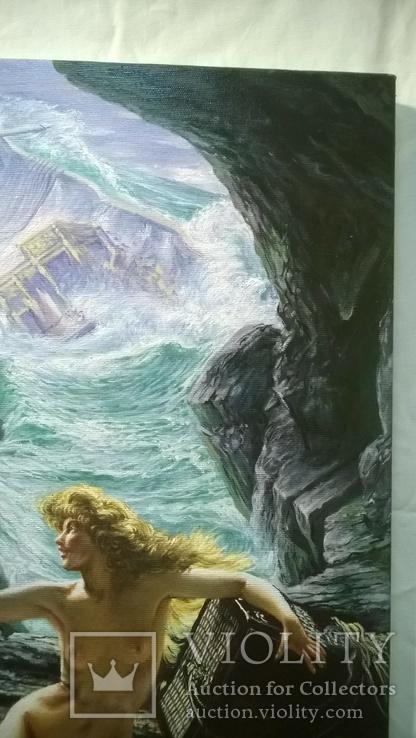"""""""Пещера штормовых нимф"""" Эдвард  Джон  Пойнтер (копия)., фото №5"""