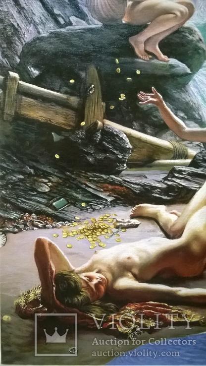 """""""Пещера штормовых нимф"""" Эдвард  Джон  Пойнтер (копия)., фото №6"""