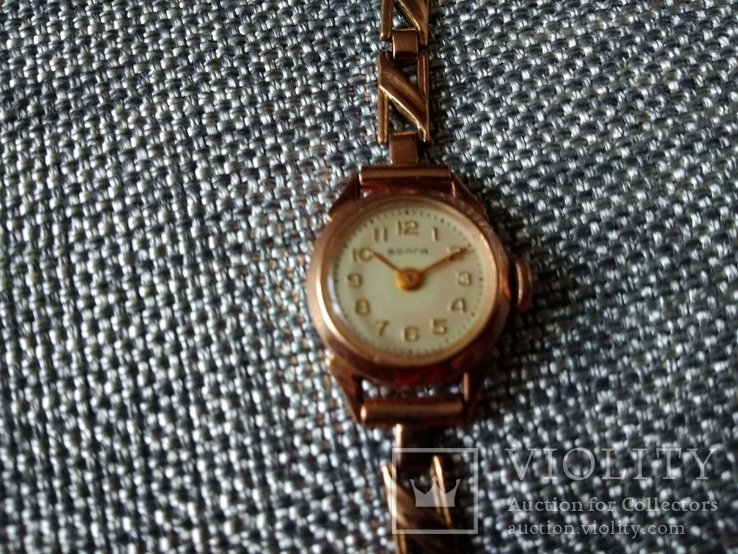 Золотые часы Волга 583