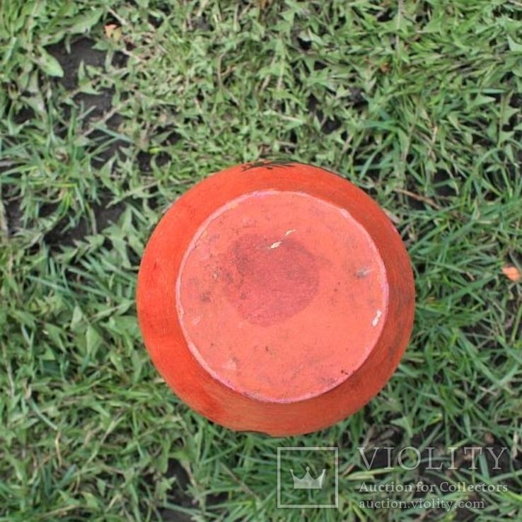 Глиняная ваза №1, ручная роспись, фото №8