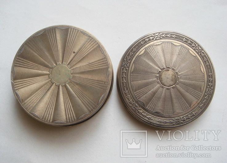 Табакерка. Серебро, 950. Франция., фото №6