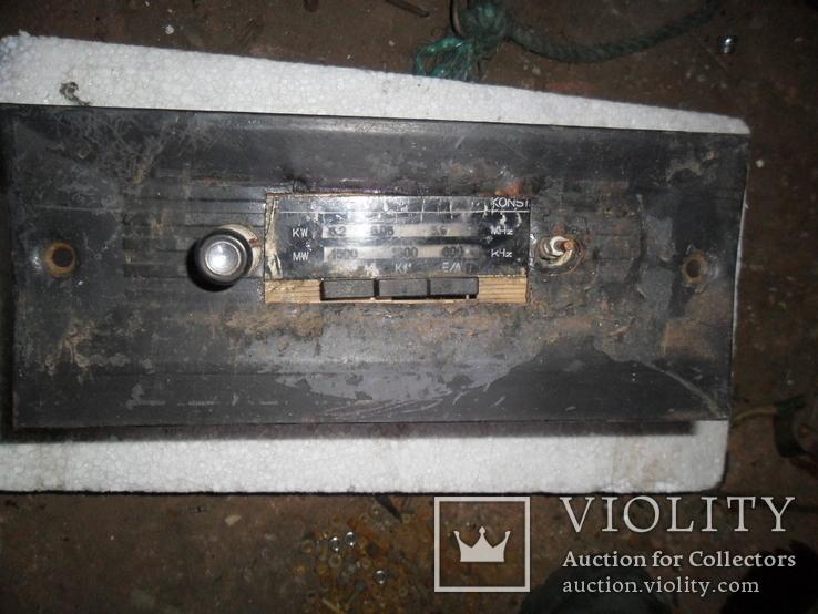 Старое немецкое авто-радио, фото №3