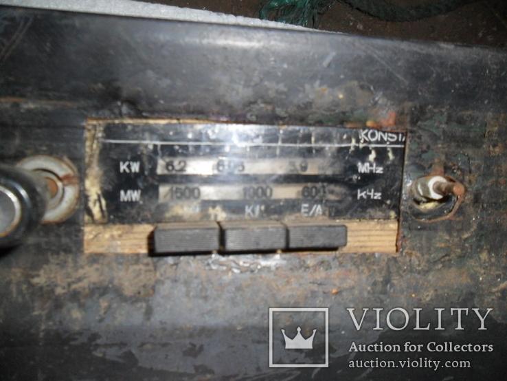Старое немецкое авто-радио, фото №5
