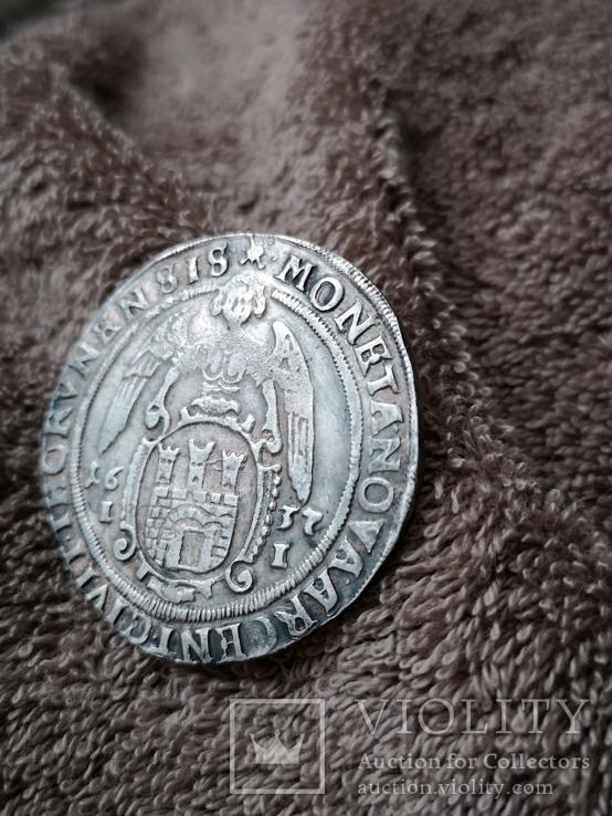 Талер 1637 г. Торунь, фото №5