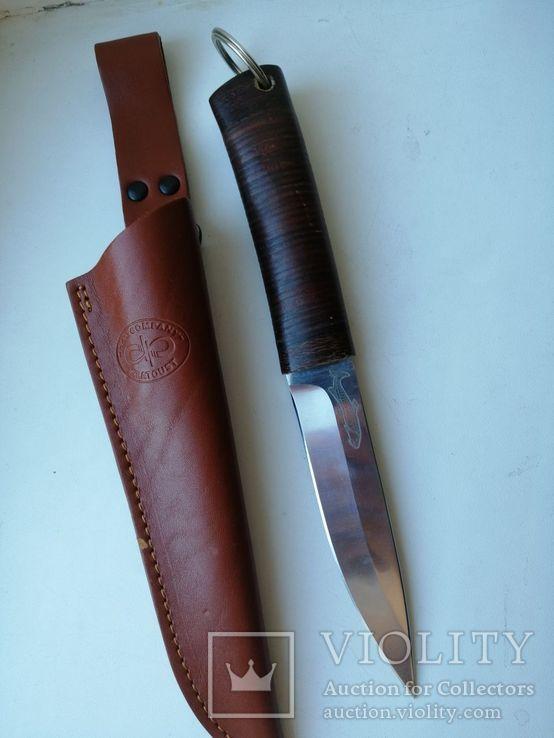 Охотничий нож златоуст 95х18, фото №5