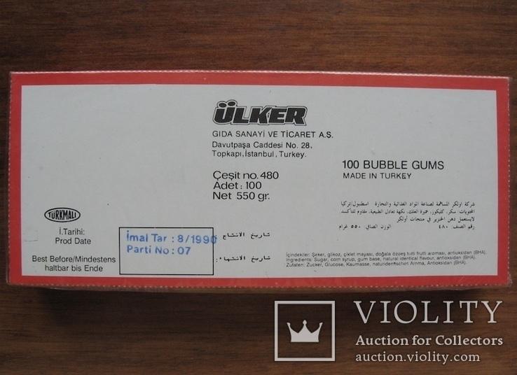 Запечатанный блок жвачек Final 90, фото №8