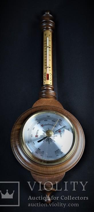 Метеостанция. Барометр. Термометр. старая Германия