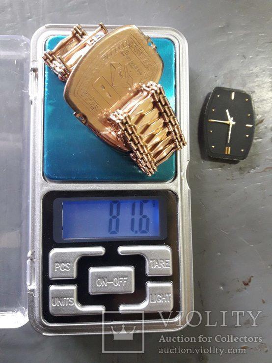 Часы мужские золотые (японский механизм), фото №8