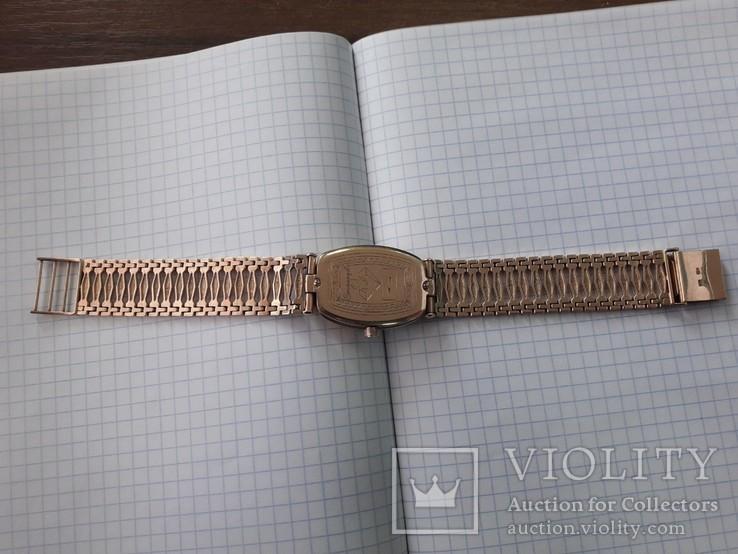 Часы мужские золотые (японский механизм), фото №9