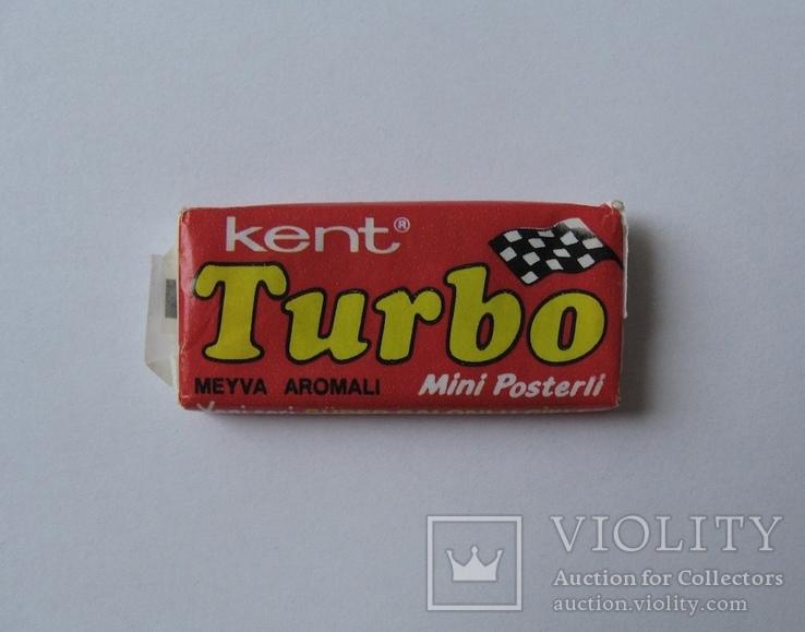 Нераспечатанная жвачка Турбо 1990 года, 2-ая серия (вкладыш с 51 по 120)