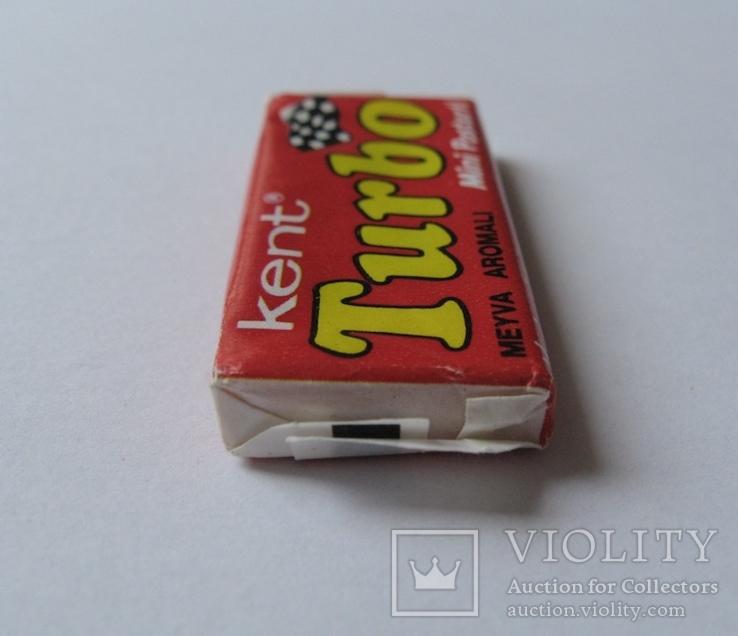 Нераспечатанная жвачка Турбо 1990 года, 2-ая серия (вкладыш с 51 по 120), фото №6