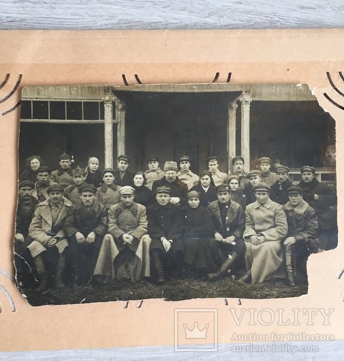 Фото старое красноармейцы, большевики.