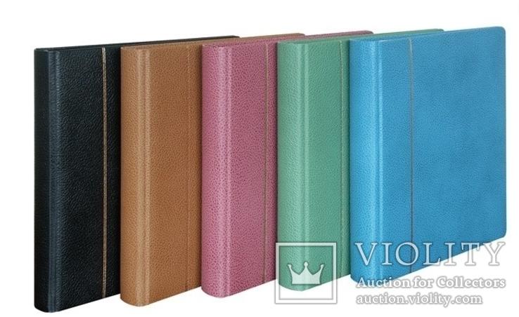 Папка - переплет серии Elegant. Lindner №1121 - G. Зелёный., фото №3