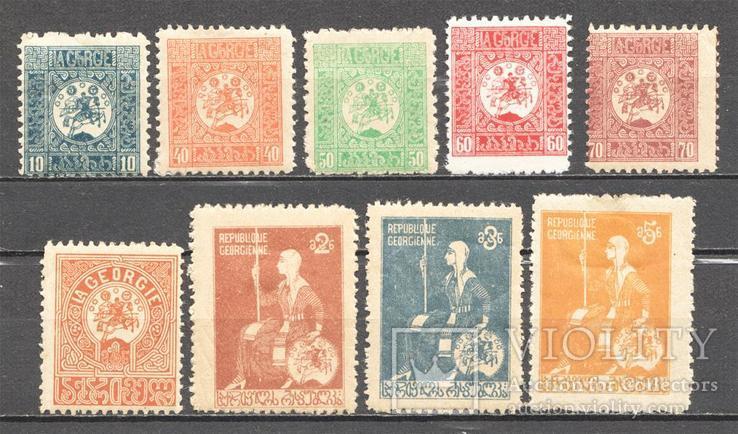 Гражданская война 1920 Грузия MH