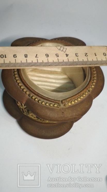 Старинная шкатулка для украшений, фото №4