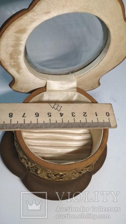 Старинная шкатулка для украшений, фото №5