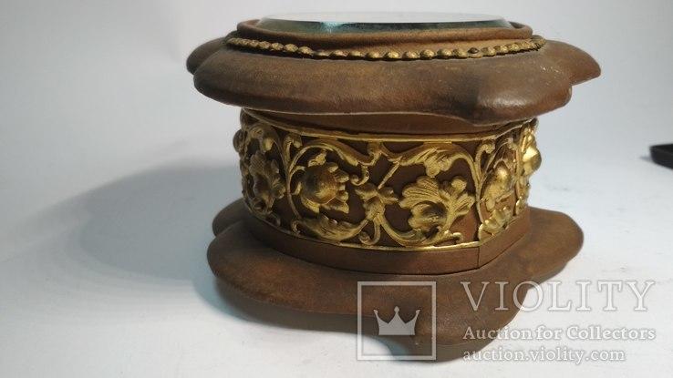 Старинная шкатулка для украшений, фото №8