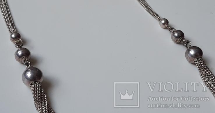 Старое серебряное украшение 835 пробы, фото №3