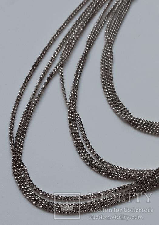 Старое серебряное украшение 835 пробы, фото №5