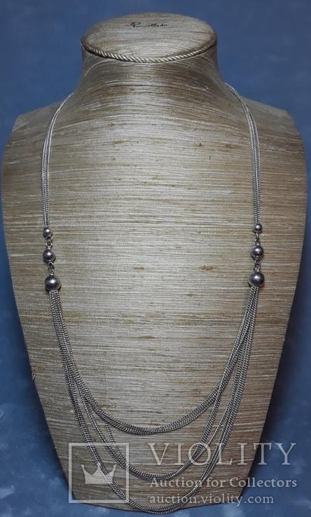 Старое серебряное украшение 835 пробы