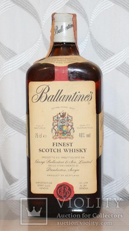 Виски Ballantine's Finest - 1980s